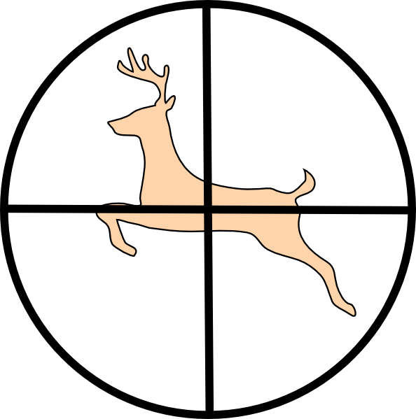 594x599 Deer Hunting Clipart Many Interesting Cliparts