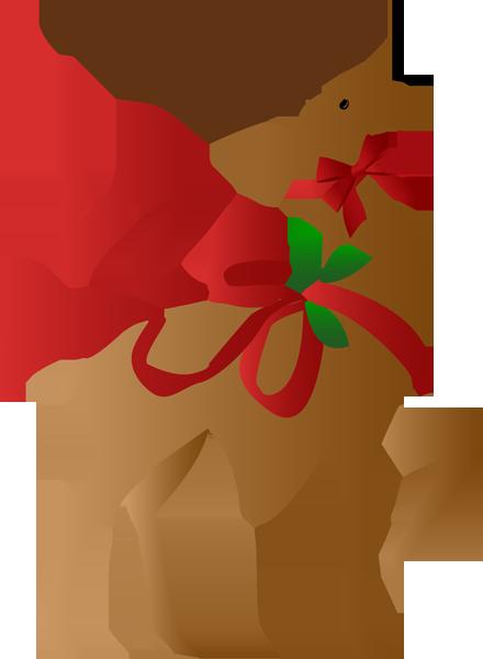 440x600 A Christmas Reindeer Clip Art, Merry And Holidays