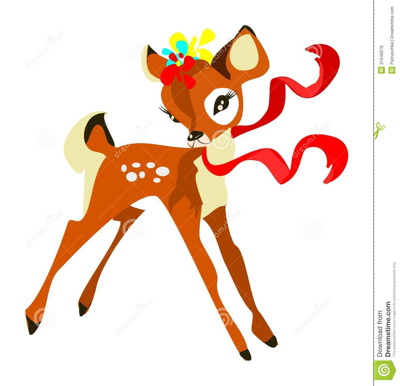 1347x1300 Girl Deer Clipart