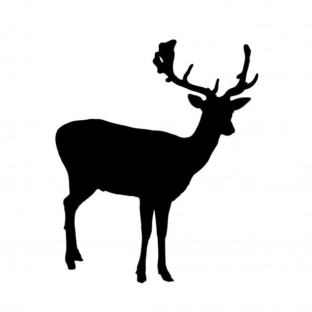 615x615 Public Domain Silhouette Clip Art