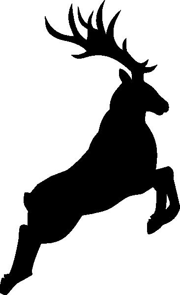 366x598 Reindeer Silhouette Clip Art