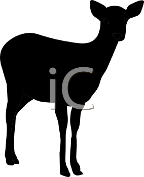 284x350 Royalty Free Deer Clip Art, Deer Clipart