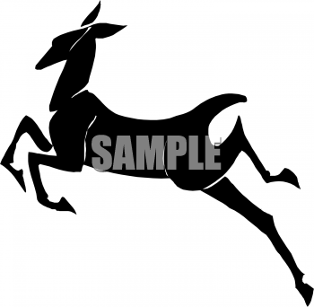 350x342 Royalty Free Doe Clip Art, Deer Clipart