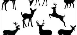 272x125 Best Deer Head Silhouette Ideas Deer Head