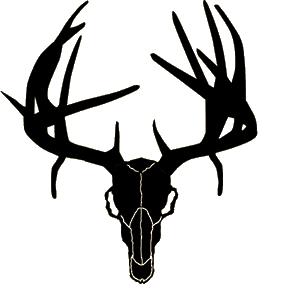 288x288 Deer Skull Clipart Clipart Panda
