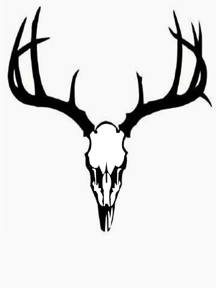 750x1000 Graphics For Deer Skull Graphics