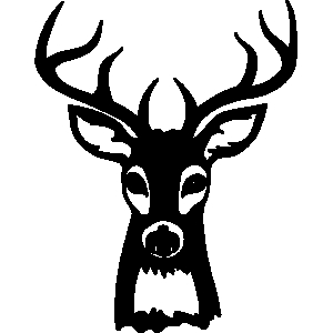 300x300 Deer Hunting Clipart