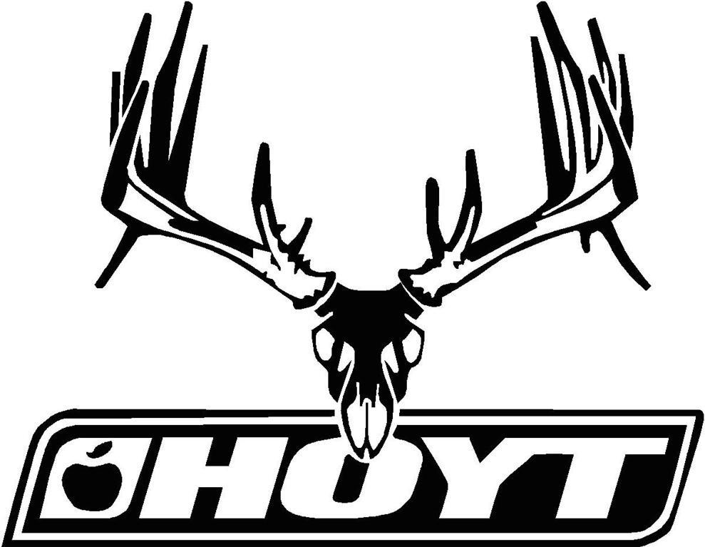 989x767 Missouri Archery Decal Hoyt Deer Skull