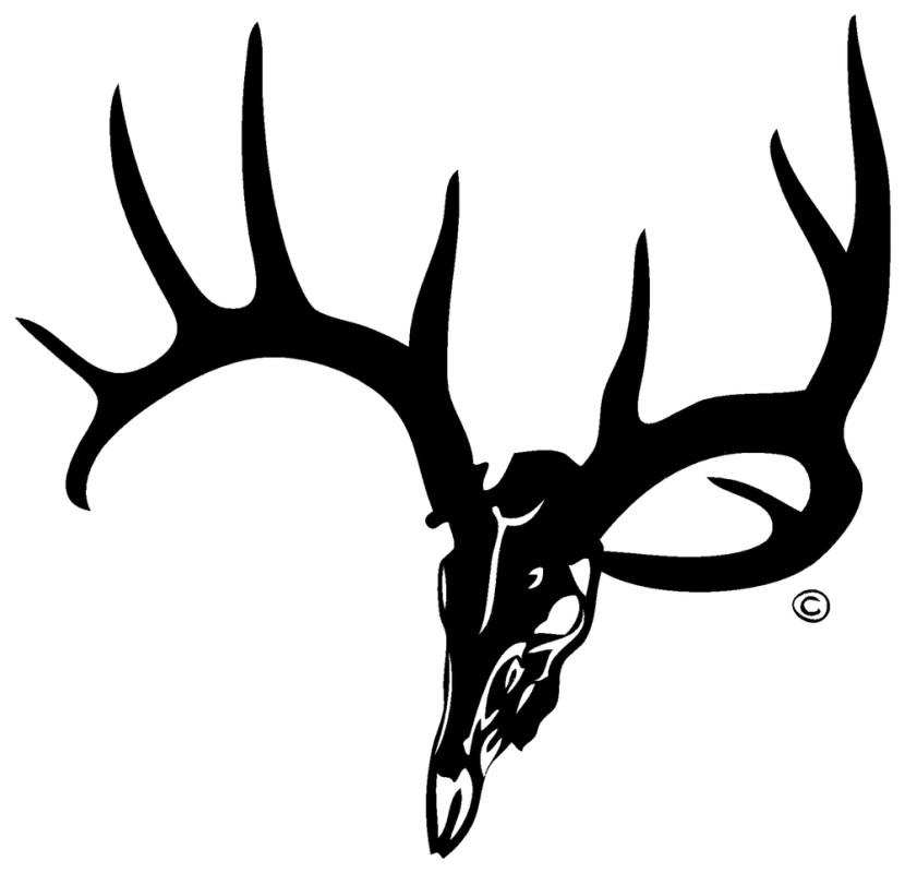 830x800 Deer Skull Clip Art