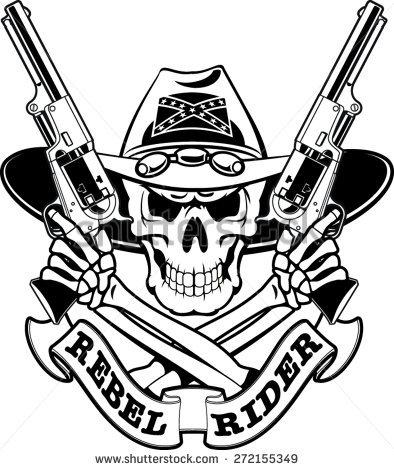 394x470 Gun Clipart Deer Skull