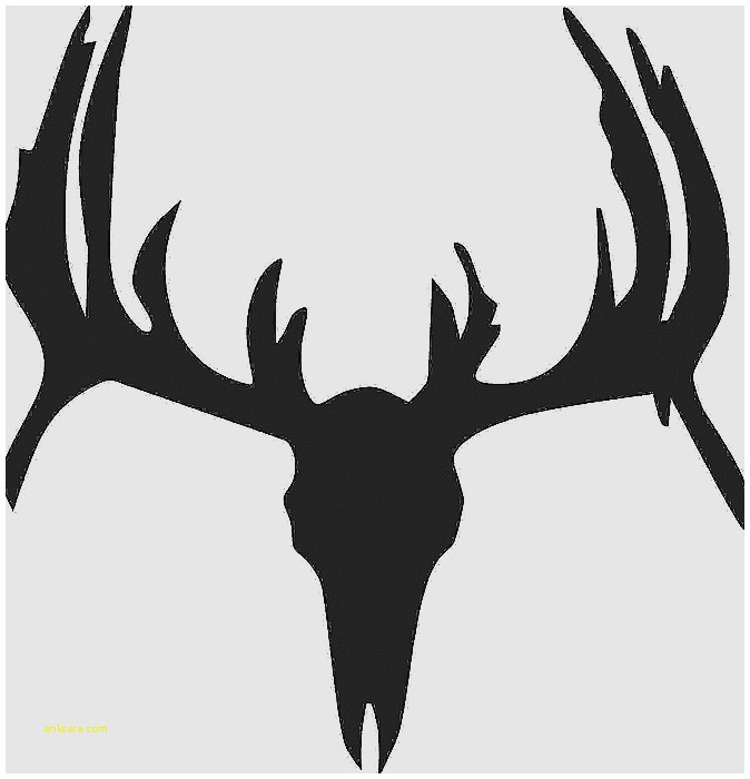 674x700 Wall Decal John Deere Logo Wall Decals New Deer Skull Silhouette