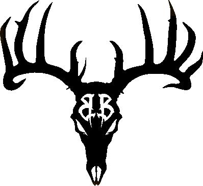 398x365 Antler Clipart Deer Skull