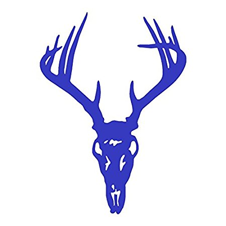 450x450 Buy Deer Skull Small Vinyl Decal In Cheap Price