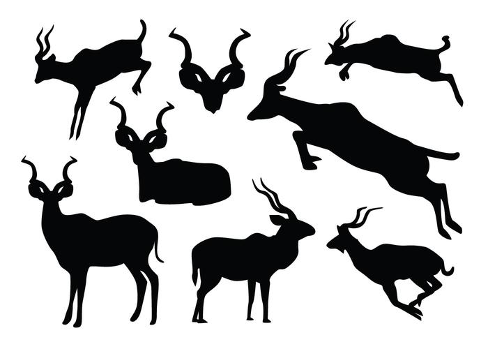 700x490 Jumping Kudu Silhouette