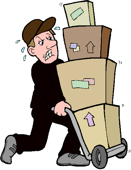 453x589 Delivery Clipart