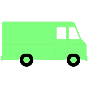 300x300 Delivery Van Clipart, Cliparts Of Delivery Van Free Download (Wmf