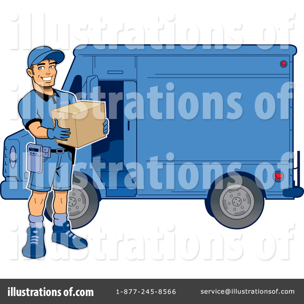 1024x1024 Delivery Man Clipart