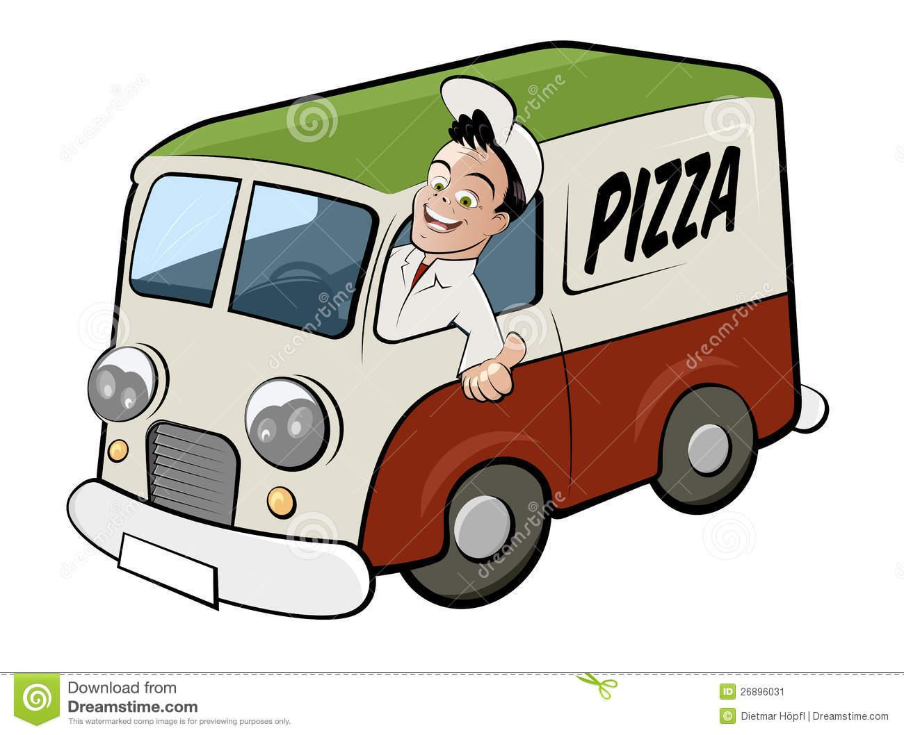 1300x1058 Delivery Van Clipart