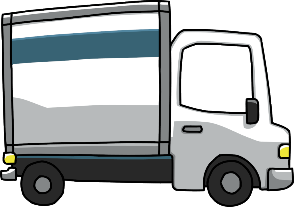 1024x721 Moving Truck Clipart
