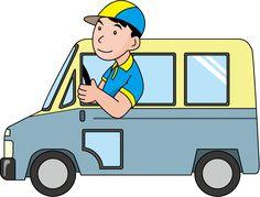 Delivery Van Clipart