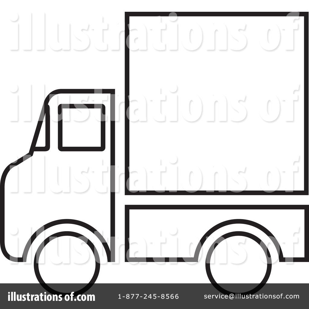 1024x1024 Delivery Van Clipart