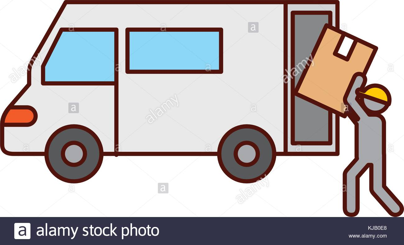 1300x788 Package Delivery Truck Stock Photos Amp Package Delivery Truck Stock
