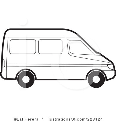 400x420 Vans Clipart Black And White