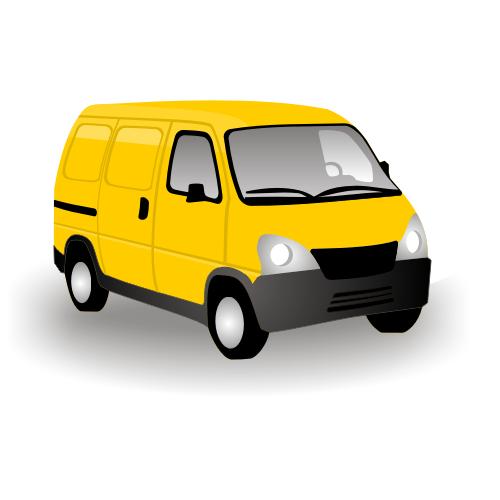 500x500 Clipart Of Van
