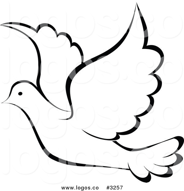 600x620 Dove Clipart Logo