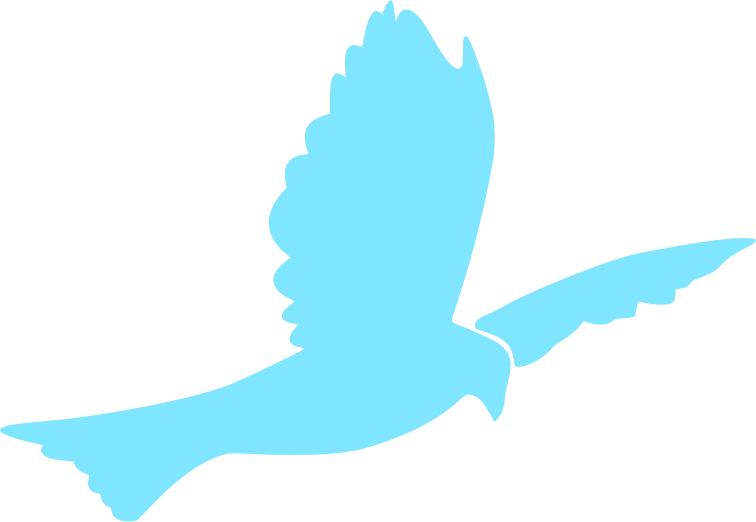 756x522 Christian Clip Art Graphic Descending Dove Solid White Dove