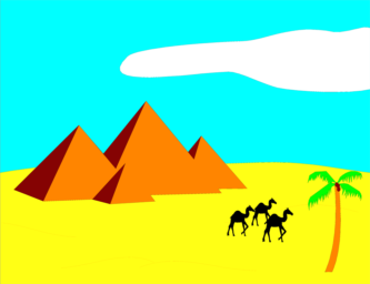 333x256 Desert clip art free clipart collection