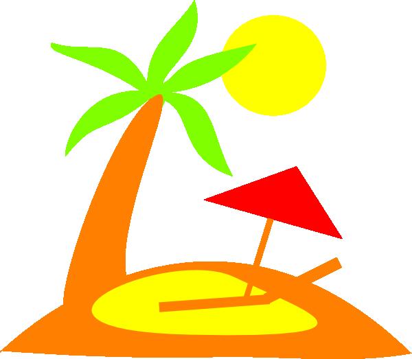 600x523 Island Clip Art
