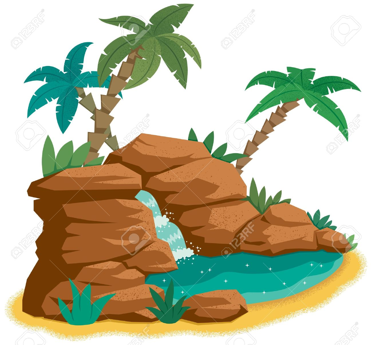 1300x1207 animated desert clipart