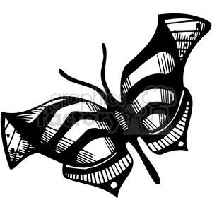 300x300 Royalty Free butterfly design 387112 vector clip art image