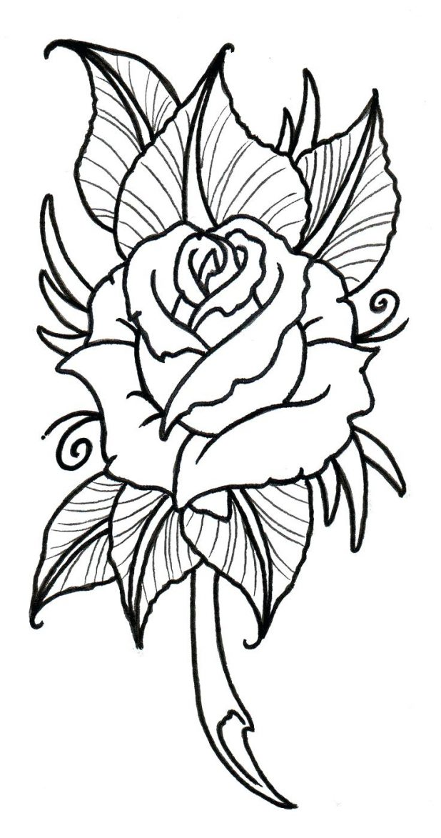 618x1173 Coloring Pages Marvelous Flower Pattern To Color. Watercolor