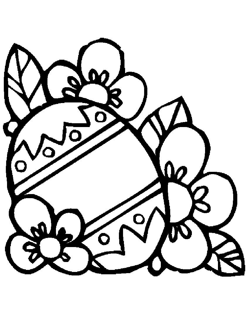 850x1100 Easter Egg Design Coloring Pages 21 Coloring Pages