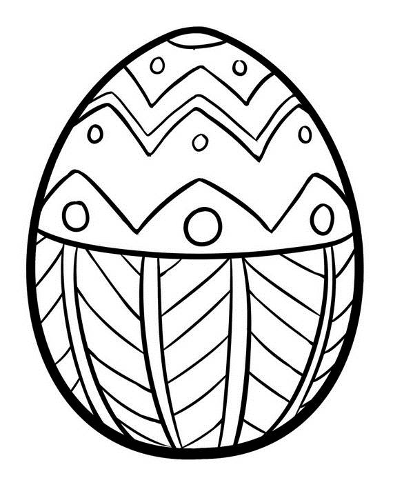570x706 Unique Spring Amp Easter Holiday Adult Coloring Pages Designs