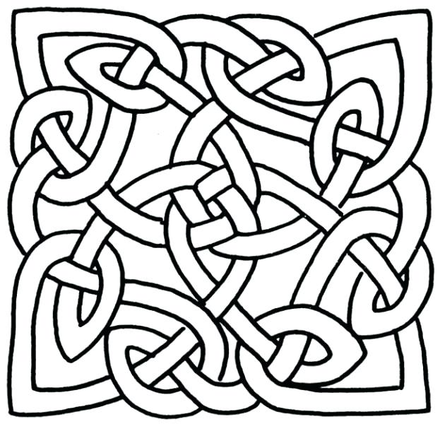 623x600 Celtic Designs Coloring Pages