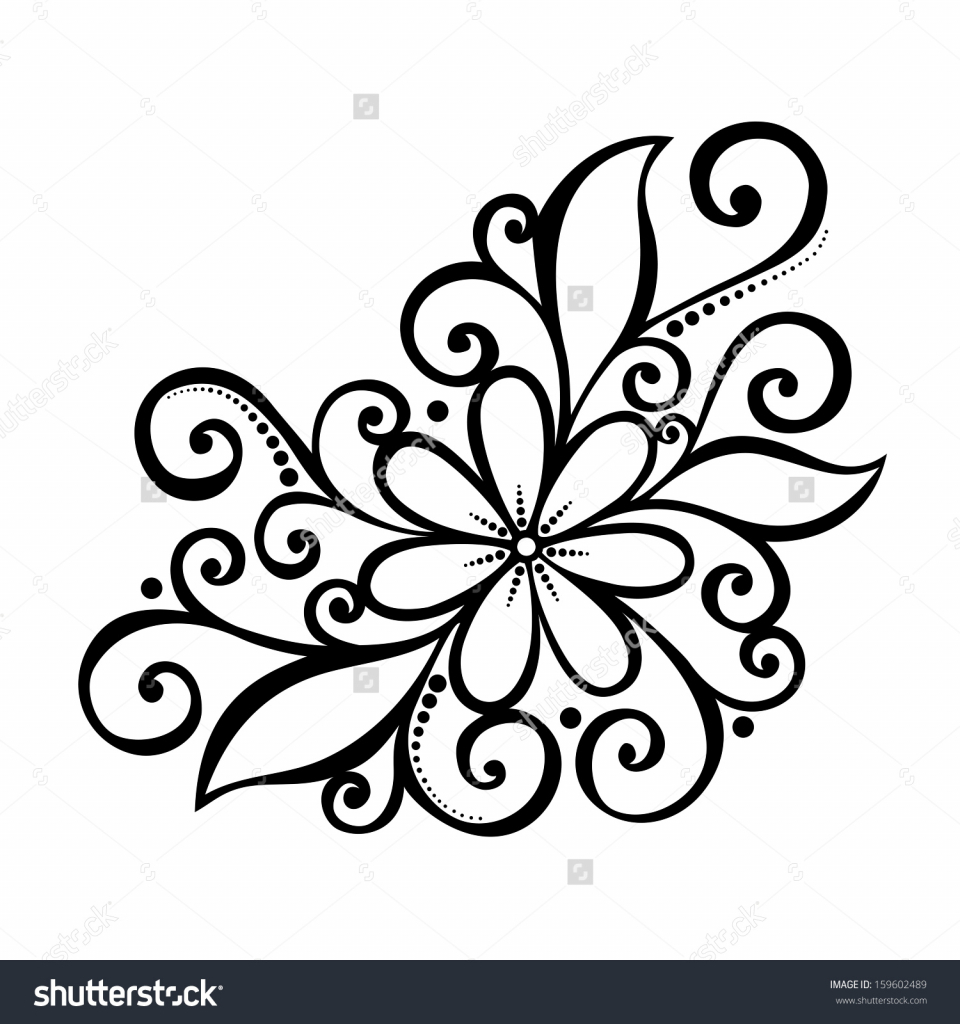 960x1024 How To Draw A Beautiful Flower Design How To Draw Beautiful