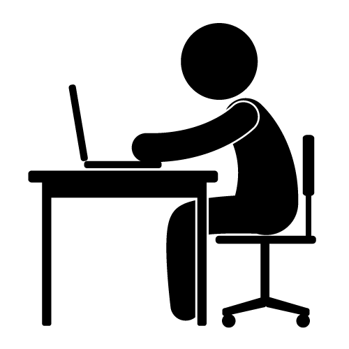 500x500 Desk Clipart Work Desk