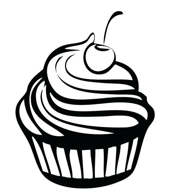 600x677 Dessert Clipart Dessert Clip Art Black And White Royalty Free Cake