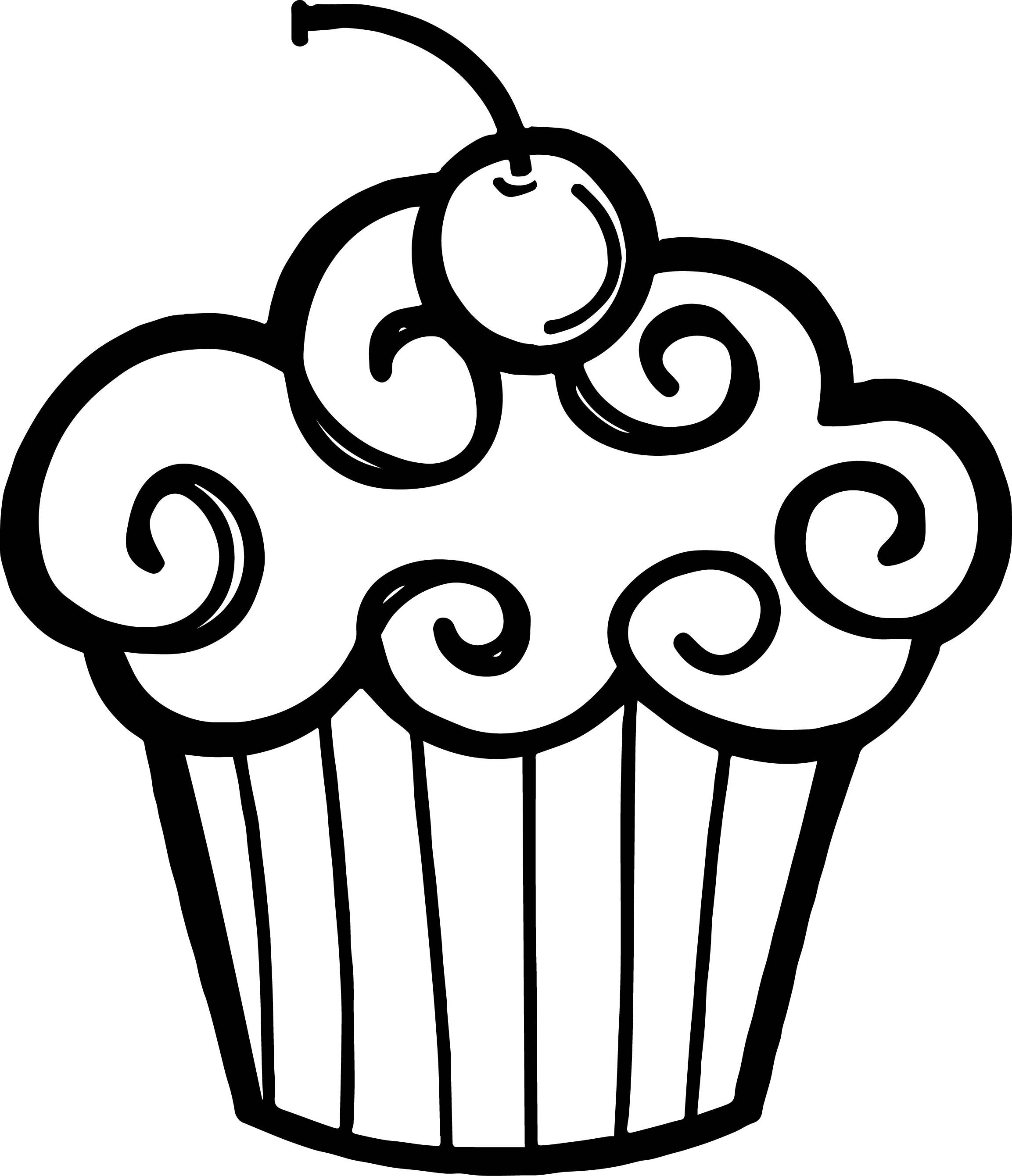 Cake black and white slice of cake clipart - WikiClipArt  |Cake Slice Clipart Black And White