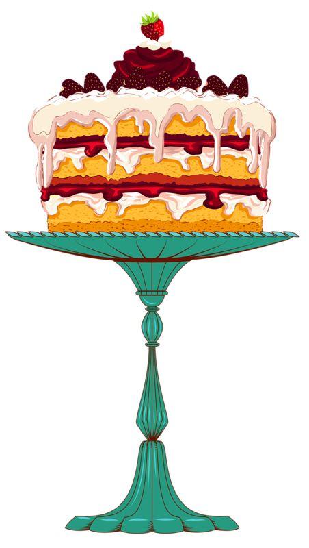 452x800 Dessert Clipart Baked Sweet