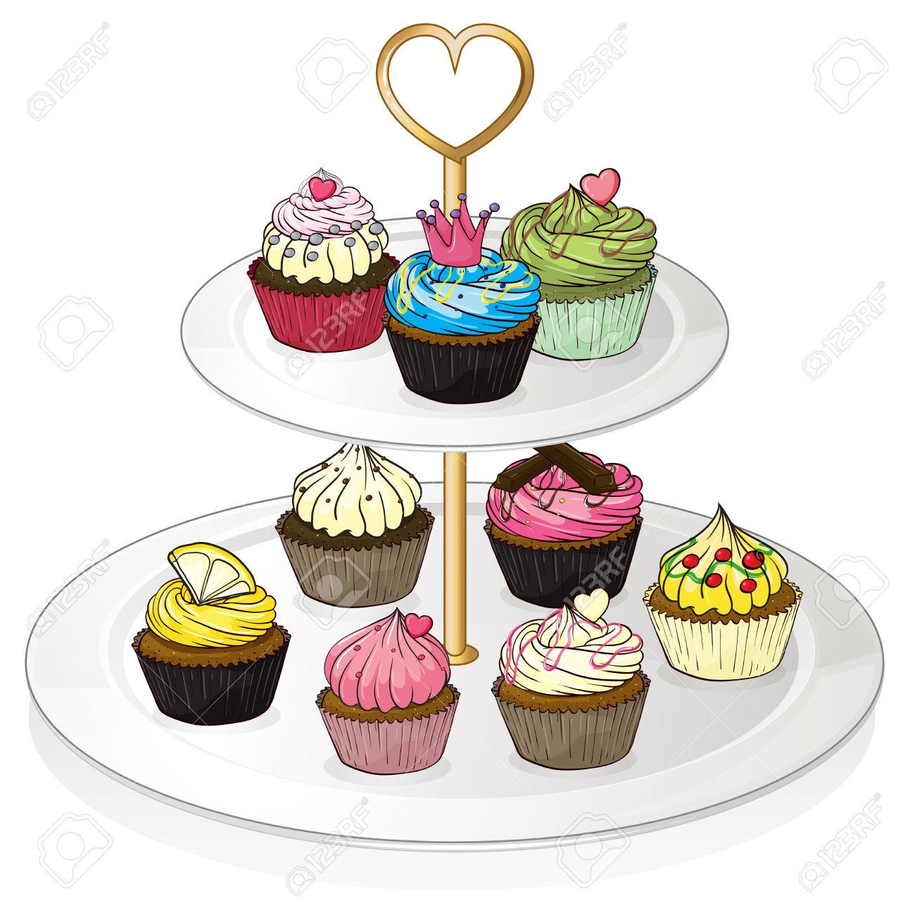 1293x1300 Dessert Clipart Dessert Tray