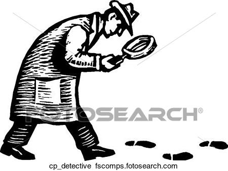 450x338 Clipart Of Detective Cp Detective