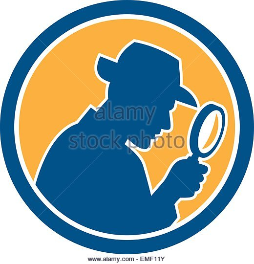 520x540 Glance Clipart Detective Magnifying Glass