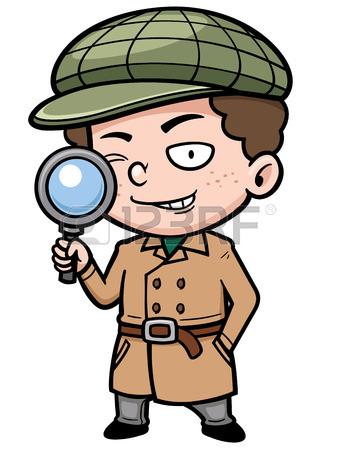 Detective Woman Clipart