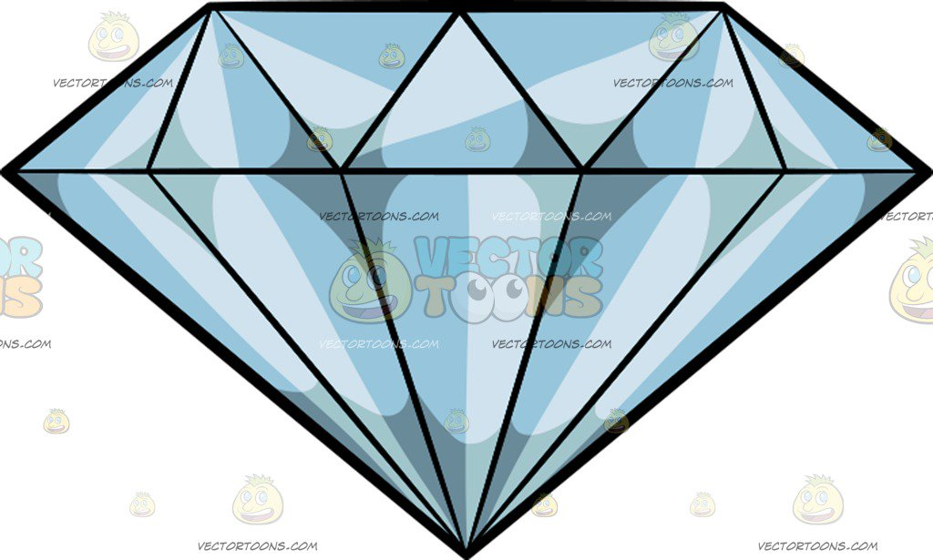 Diamond Cartoon