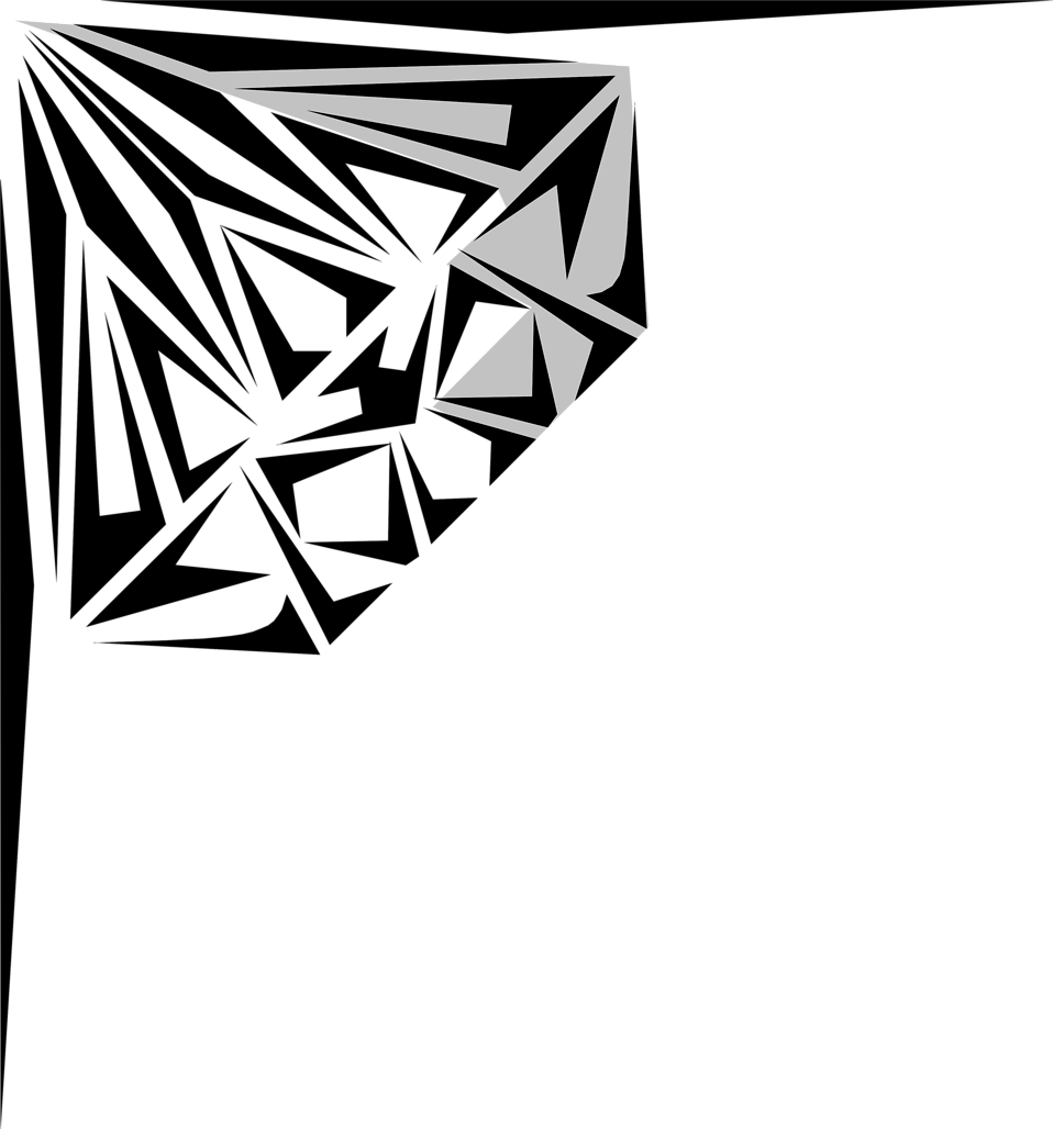958x1028 Diamond Outline Transparent Background Clipart