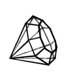 236x284 Diamond Tattoo Outline